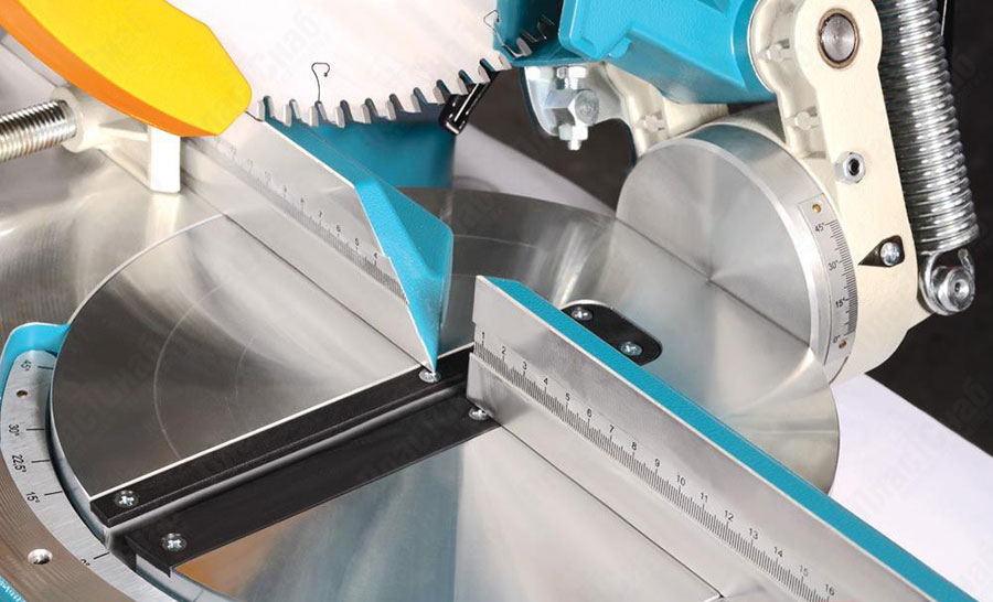 Настольная (ручная) пила для резки ПВХ и алюминиевого профиля YILMAZ KY 300, пластика, алюминия